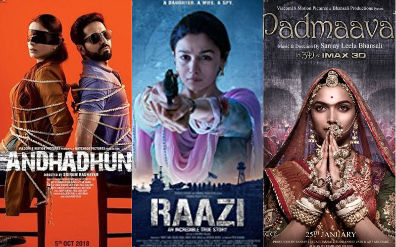 IIFA Awards 2019 Nominations: Ayushmann Khurrana's Andhadhun Gets Maximum Nominations Followed By Raazi And Padmaavat
