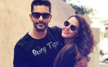 Neha Dhupia & Angad Bedi Found Love At A Singles Only Valentine's Day Party. Beat That?!