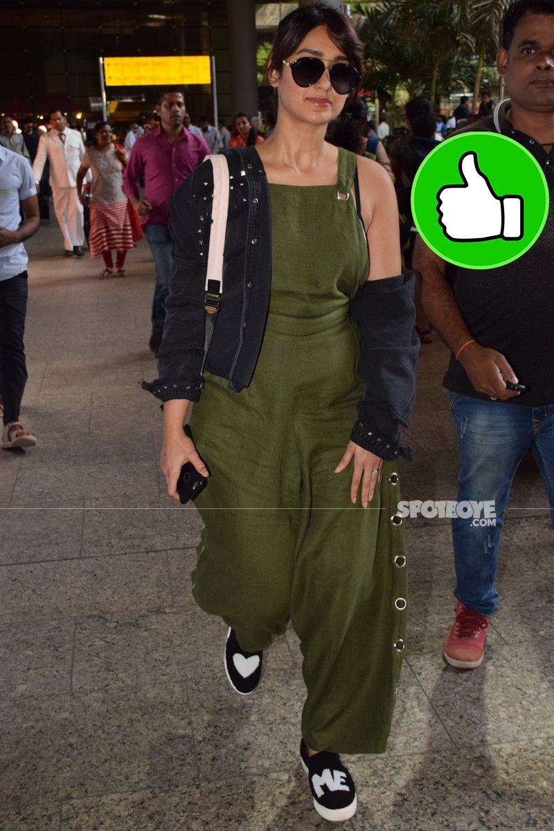 ileana d cruz at mumbai airport
