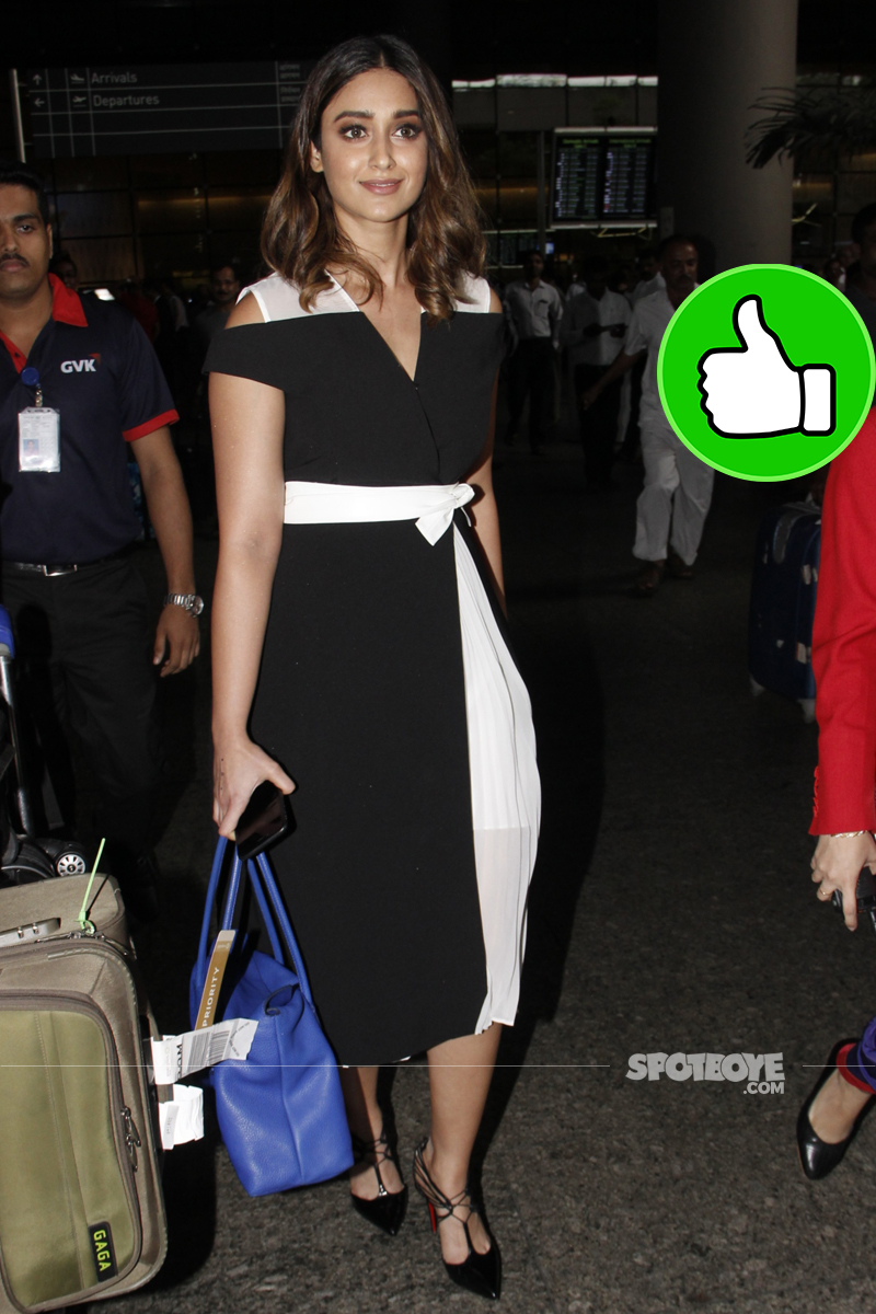 ileana d cruz at the airport