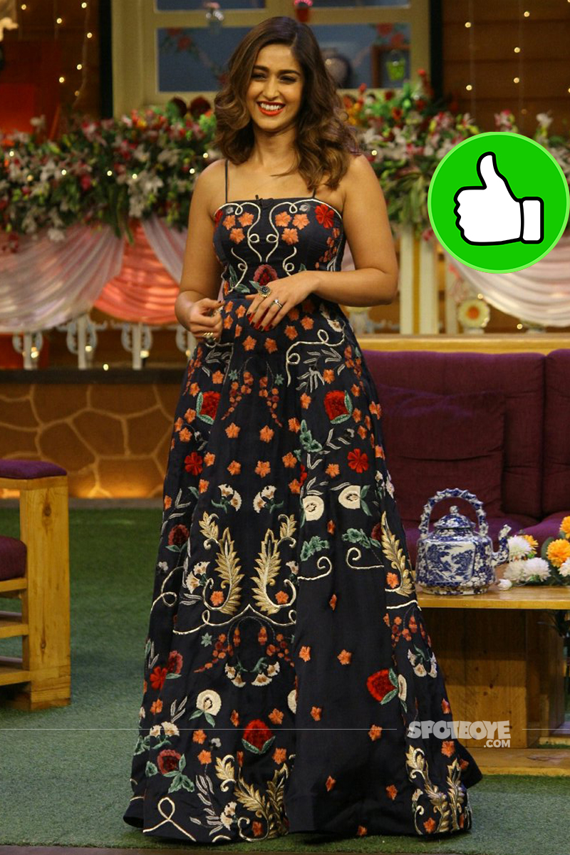 ileana d cruz promotes mubarakan on the kapil sharma show