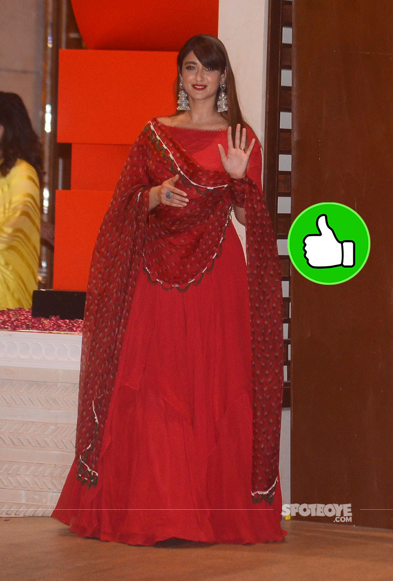 ileana dcruz at ambani ganpati celebration