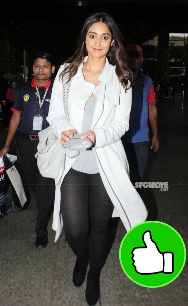 Ileana dcruz at airport