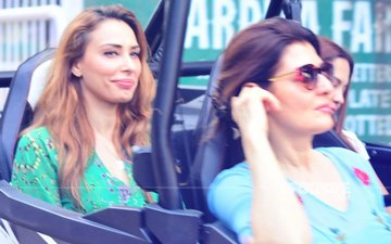 ALL IS WELL! Iulia Vantur & Sangeeta Bijlani Enjoy ATV Ride Together In Panvel