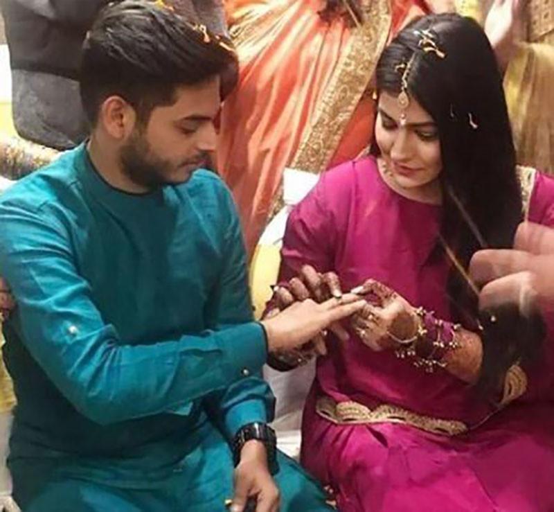 Sidharth Sagar Subuhi Joshi Engagement