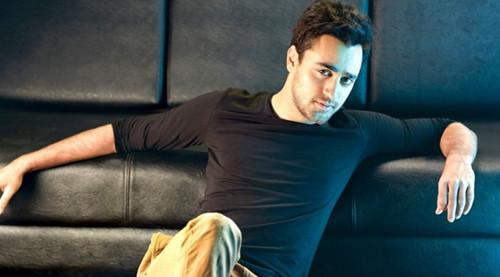 imran khan poses for a photo shoot