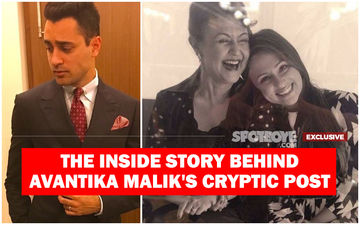 Imran Khan's Mother-In-Law Brings Avantika Malik's Reconciliation Proposal; Actor Evades It- EXCLUSIVE