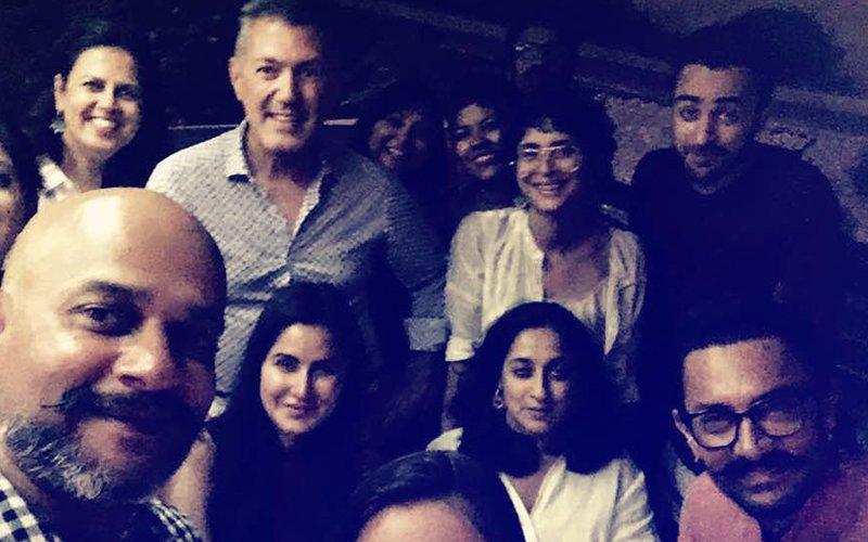 What Is Imran Khan Doing With Katrina Kaif & Aamir Khan On-The-Sets Of Thugs Of Hindostan?
