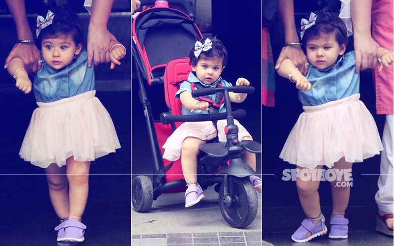 Inaaya 1ST Birthday: Here Are 7 Cutesy Pics Of Soha Ali Khan & Kunal Kemmu's Little Munchkin