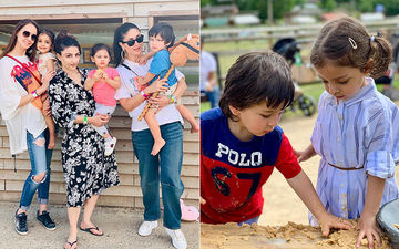 Inaaya Naumi Kemmu, Taimur Ali Khan And Kainaat Singh Bond Over Play Date In London