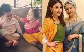 Soha Ali Khan Opens Up On Taimur-Inaaya's Batman Playdate, Shares Concerns About Her Mother Sharmila Tagore Living Alone In Delhi