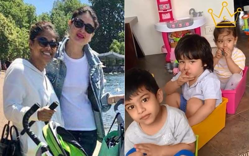 Kareena Kapoor Khan's BFF Reenaa Pillai Gupta Wishes Soha Ali Khan's Daughter Inaaya With An UNSEEN Video Of Her And Taimur- WATCH