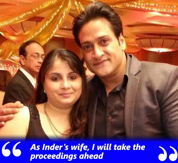 inder kumar with wife pallavi