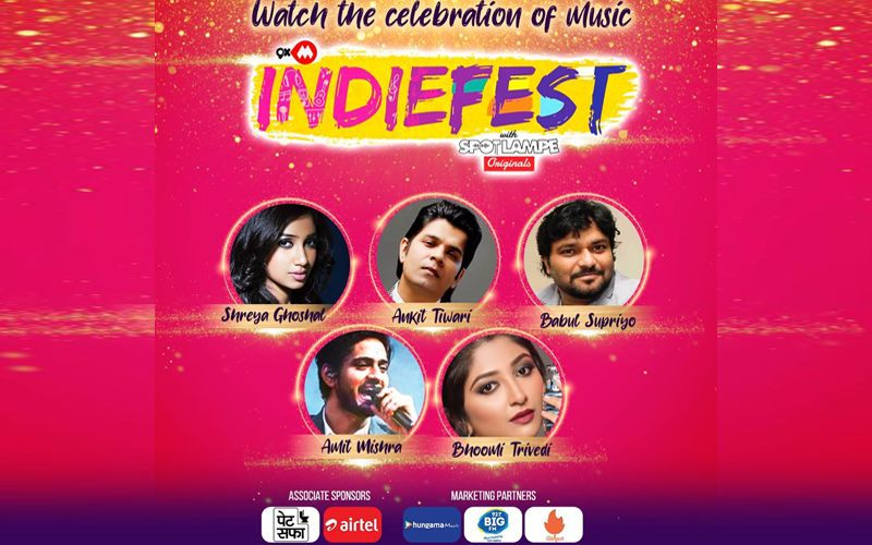 9XM Indiefest With SpotlampE Originals - 5 Original Tracks By Top Bollywood Singers To Make The Festive Season More Special