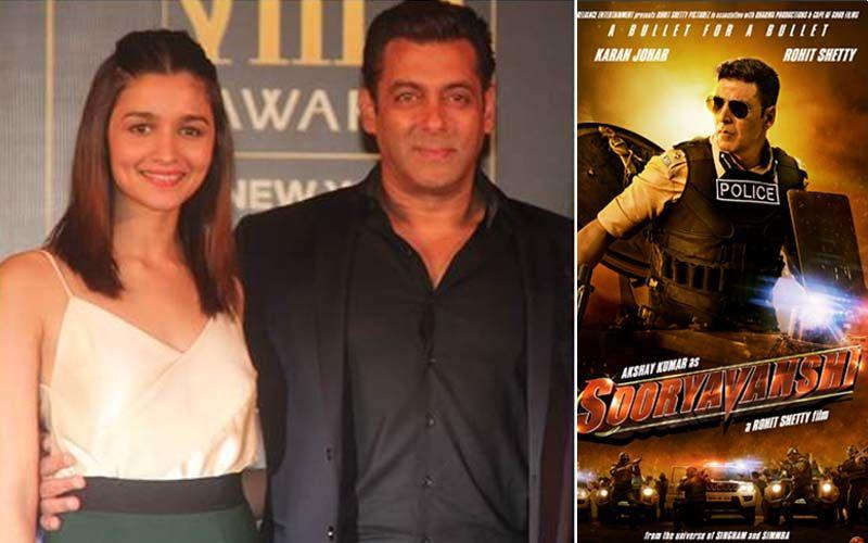 Inshallah! No More Clash With Sooryavanshi; Salman Khan And Alia Bhatt Starrer To Release In Eid 2020