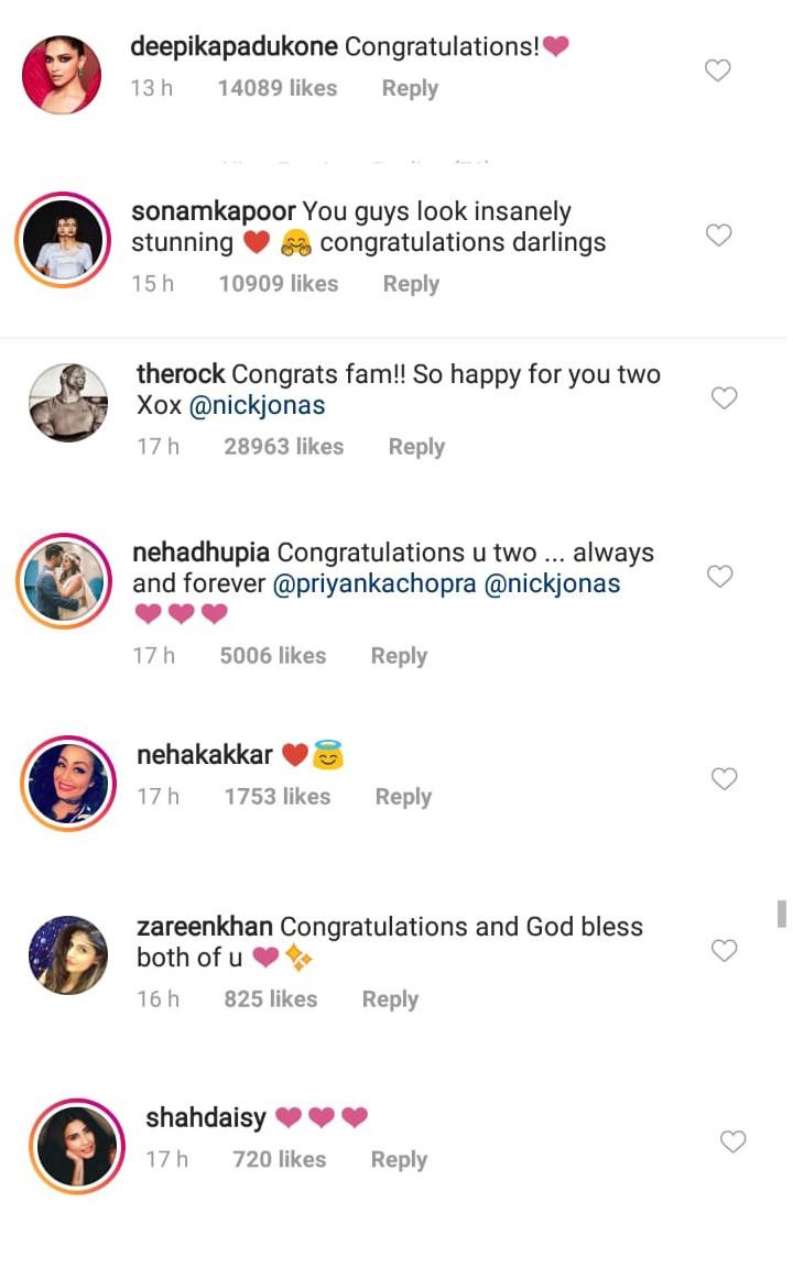 celebrities congratulate nickyanka