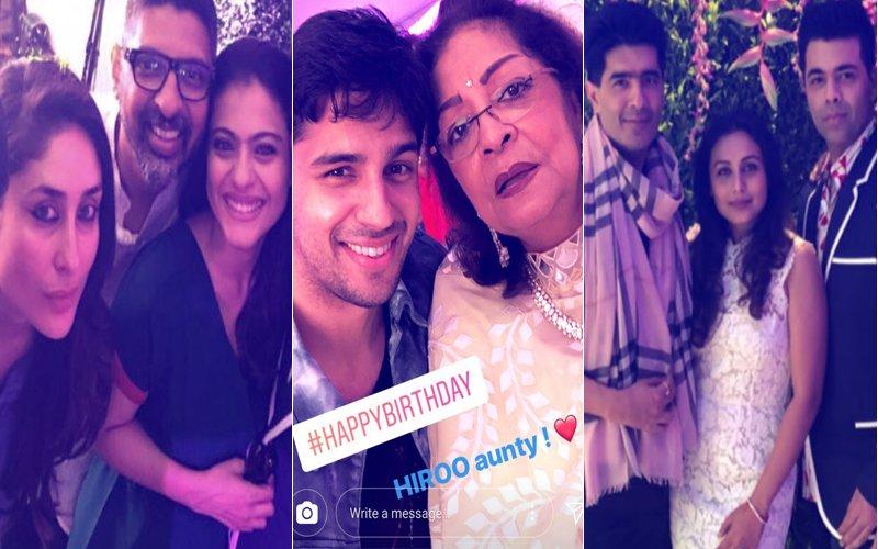 Inside Pics Of Hiroo Johar's 75TH Birthday Bash: Kareena Kapoor, Rani Mukerji, Shweta Bachchan Nanda, Sidharth Malhotra Rock The Party