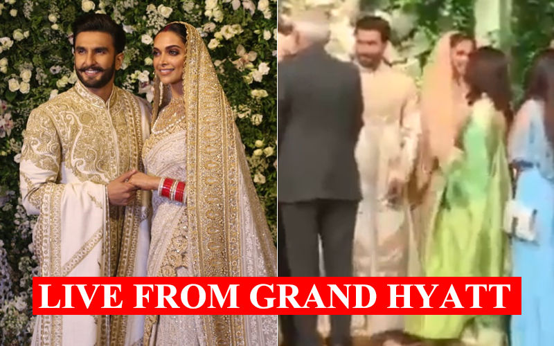 Inside Deepika Padukone And Ranveer Singh's Mumbai Reception: Uncut Videos, You Can See It All Here!