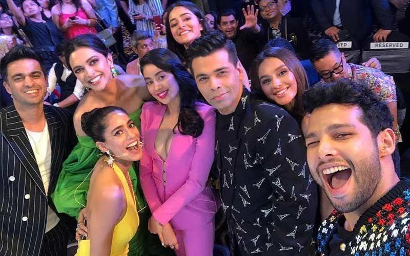 Grazia Millennial Awards 2019: Deepika Padukone, Karan Johar, Janhvi Kapoor, Ananya Panday Are Awesomely Selfie'some'  – Inside Pics