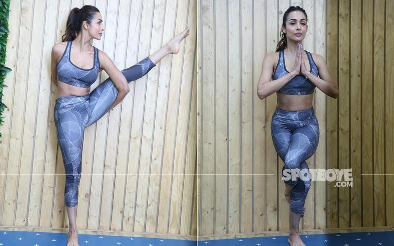 International Yoga Day: Malaika Arora's Yoga Poses Will Make Your Jaws Drop