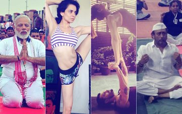 International Yoga Day: PM Narendra Modi, Kangana Ranaut, Bipasha Basu, Karan Singh Grover, Jackie Shroff Celebrate Fitness