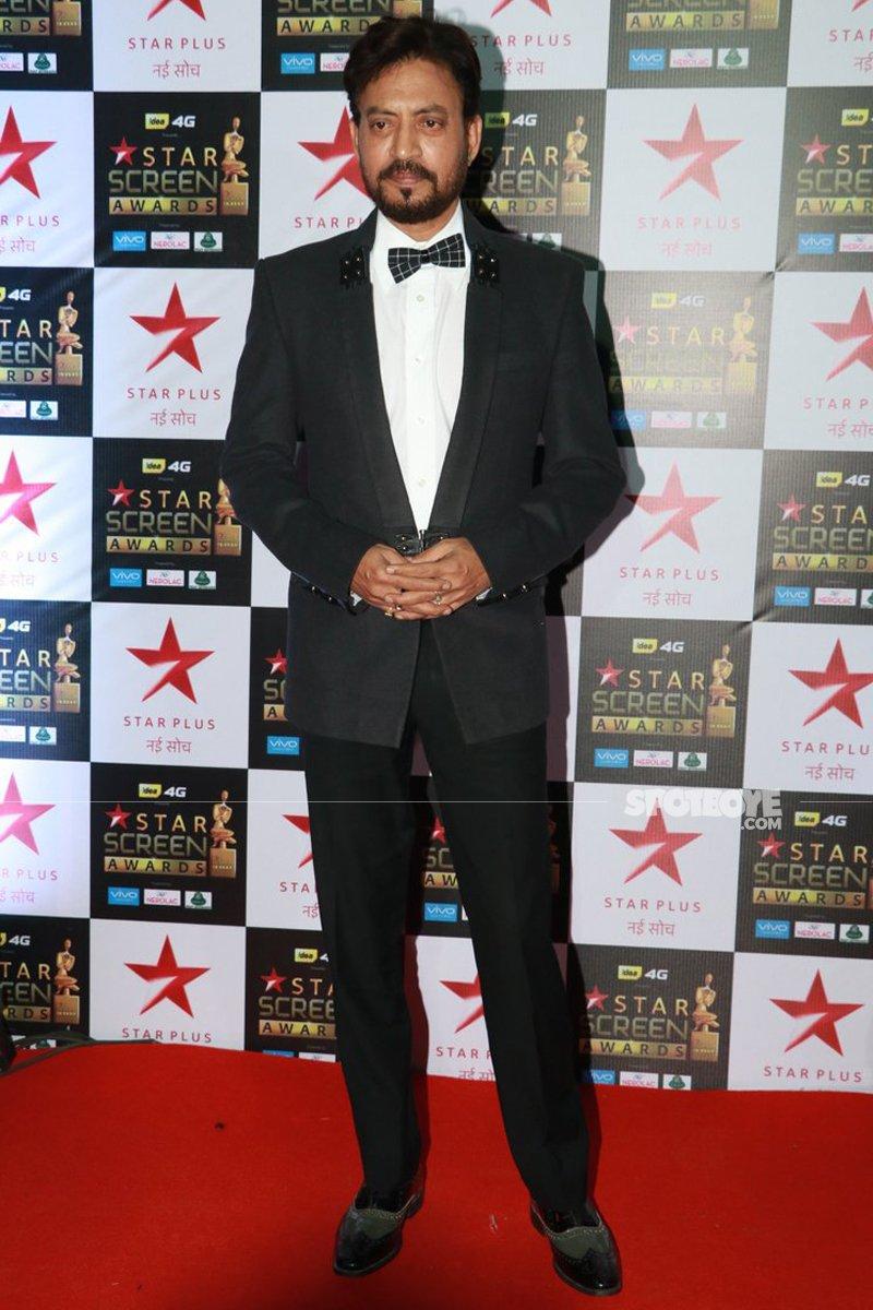 irrfan khan at star screen awards