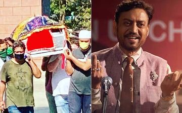 Irrfan Khan Funeral: Filmmaker Sandip Ssingh Shares Picture Of Last Rites As He Shoulders Actor's Mortal Remains For Burial