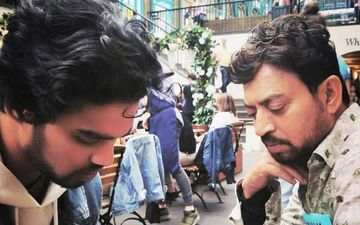 Irrfan Khan's Son Babil Poses For Picture With A 'Rolled Up Cigarette' Along With His 'Saheli'