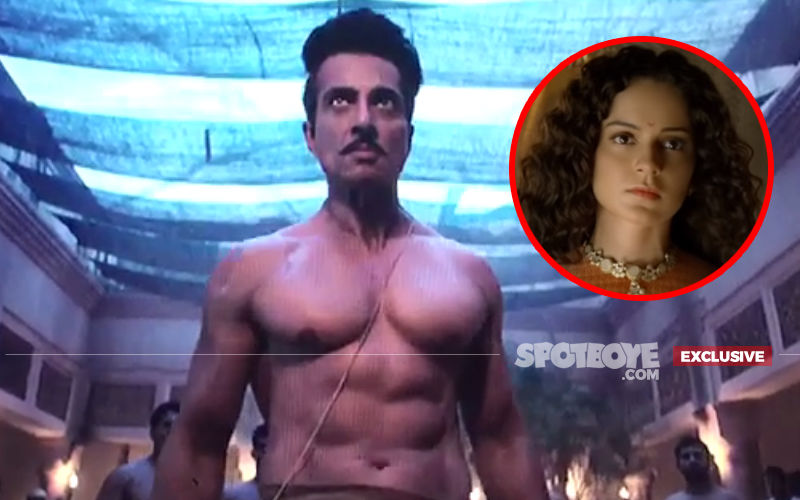 Is This Bare-Chested Scene Of Manikarnika What Made Kangana Ranaut Insecure About Sonu Sood? In Video!