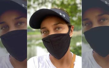 Lisa Ray Defines 'New Normal' Wearing A Government Issued Mask In Singapore; Writes Long Insta Post With Hashtag 'Hijab Eyes'