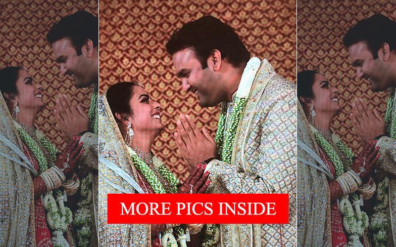 दूल्हा-दुल्हन बने ईशा अंबानी-आनंद पीरामल, देखिए शादी की तस्वीरें