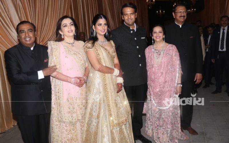 Isha Ambani-Anand Piramal Wedding Reception LIVE Updates- सन्नी देओल, ईशा देओल और नील नितिन मुकेश भी पहुंचे