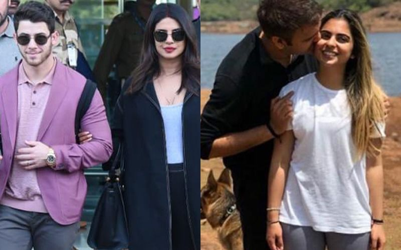 Priyanka Chopra Reaches Udaipur For Isha Ambani's Wedding With Her Darling Nick Jonas