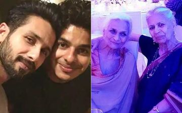 Shahid Kapoor And Ishaan Khatter's Nani Passes Away; Latter Posts A Heartfelt Post On Insta