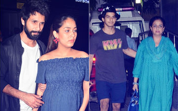 Shahid Kapoor-Mira Rajput Welcome Baby Boy: Ishaan Khatter And Neelima Azim Arrive To Meet Newborn