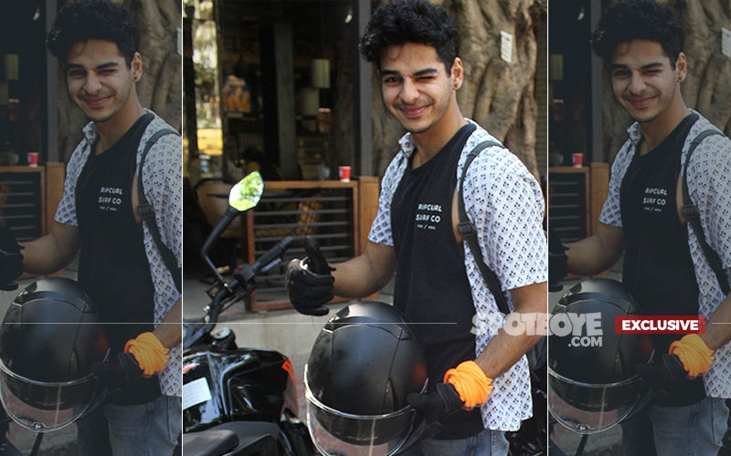 Ishaan Khatter Pays The Price For Parking His Bike In 'No Parking Zone'