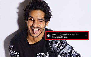 Ishaan Khatter's Got Shahid Kapoor's Dance Bug, This VIDEO Is Proof; Crazy Fan Writes 'Shadi Tujhi Se Karungi'