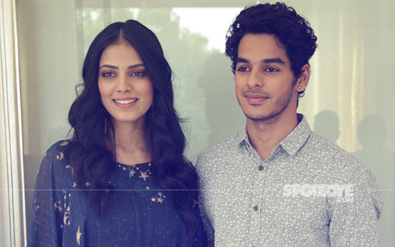 On A Promotional Spree: Ishaan Khatter & Malavika Mohanan Talk Beyond The Clouds In Delhi