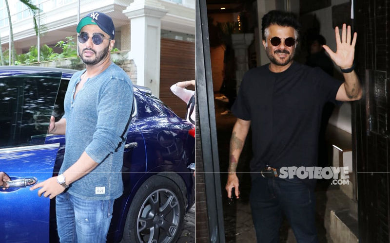 It's A Famjam As Arjun Kapoor Joins His Family At Anil Kapoor's Juhu House