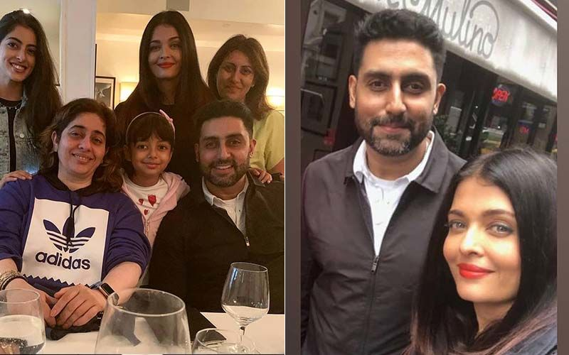 It's A Total Famjam For The Bachchans As Aishwarya-Abhishek, Aaradhya Bond With Navya Naveli In NYC