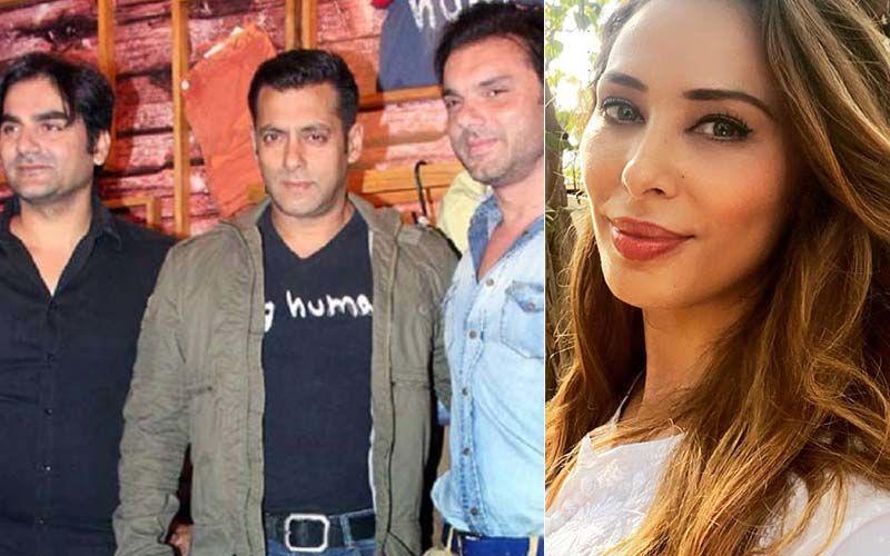 Iulia Vantur Asked To Choose Between Salman, Arbaaz And Sohail Khan By A Fan; Here's How She Replied