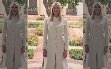 Ivanka Trump Wears A Classic Sherwani By Anita Dongre