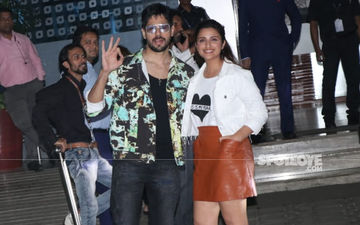 Jabariya Jodi Sidharth Malhotra-Parineeti Chopra Papped In The City For Another Round Of Film Promotions