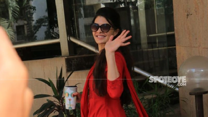 Jacqueline Fernandez Runs On A Tight Schedule; After Bhoot Police, Actress Jumps To Shoot Cirkus With Ranveer Singh