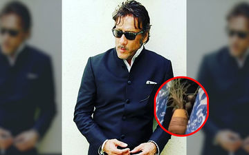 Jackie Shroff Sports Unique Fash Accessory, A Little LIVE Plant In His Neckpiece; Breath Of Fresh Air, Literally