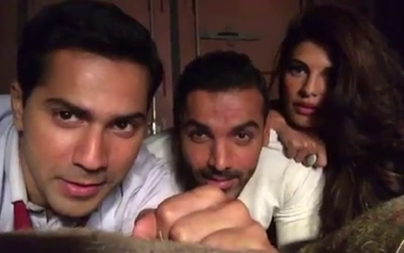 3 Years Of Dishoom: You Have To See Varun Dhawan, Jacqueline Fernandez And John Abraham's Version Of 'Smelly Cat'