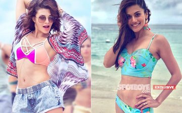 Taapsee Pannu's Vote For The FITTEST HOT BODY Goes To Jacqueline Fernandez