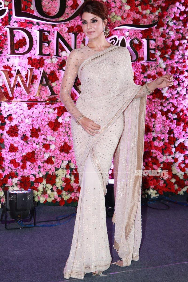 jacqueline fernandez at lux golden rose awards