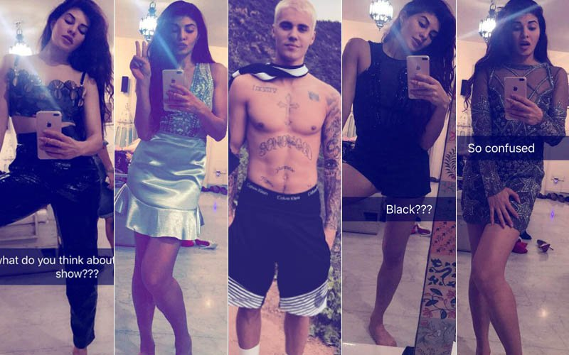 Jacqueline Fernandez Needs Your Help To Decide Which Outfit To Wear For Justin Bieber's Concert!