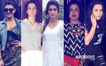 STUNNER OR BUMMER: Jacqueline Fernandez, Kangana Ranaut, Kriti Sanon, Farah Khan Or Preity Zinta?